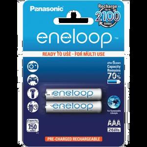 aku Panasonic eneloop, 750 mAh AAA/2B