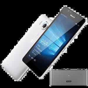 mobiiltelefon Microsoft Lumia 950 (valge)