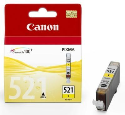 tindikassett Canon CLI-521Y