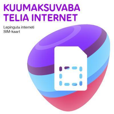 Telia kuumaksuvaba internetikaart