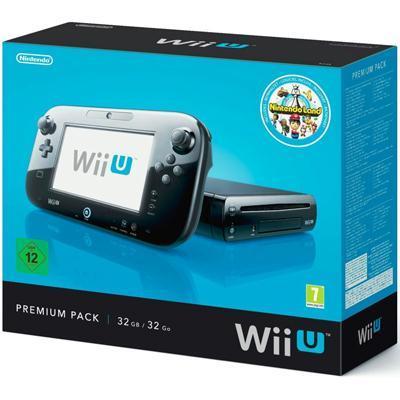 mängukonsool Nintendo  Wii U Premium, 32 GB