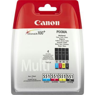tindikassettide komplekt Canon CLI-551
