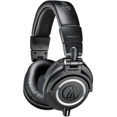 kõrvaklapid Audio-Technica ATH-M50X (must)
