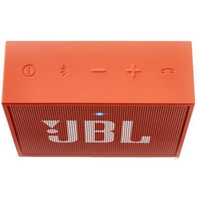 kaasaskantav Bluetooth kõlar JBL GO (oranž)
