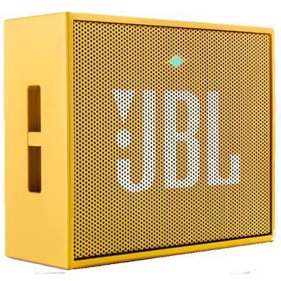 kaasaskantav Bluetooth kõlar JBL GO (kollane)