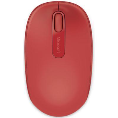 juhtmeta hiir Microsoft WRL Mobile 1850 (punane)