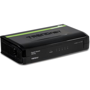 5-pordine Gigabit switch TrendNet TEG-S5g
