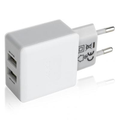 toalaadija adapter XQISIT 2 x USB väljundiga