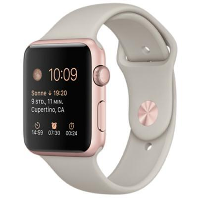 nutikäekell Apple Watch Sport 42 mm (roosa)