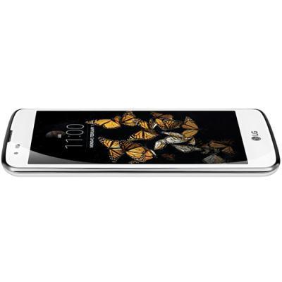 mobiiltelefon LG K8 4G (valge)
