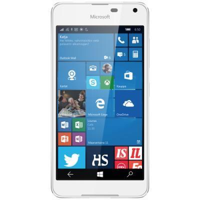 mobiiltelefon Microsoft Lumia 650 Dual SIM (valge)