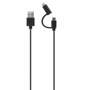 USB kaabel XQISIT USB 2.0 otsik ja Lightning B otsik, 1 m