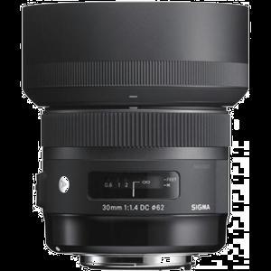 objektiiv Sigma 30 mm F1.4 DC HSM Art kaamerale Canon
