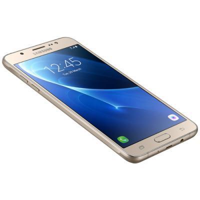 mobiiltelefon Samsung Galaxy J7 2016 (kuldne)