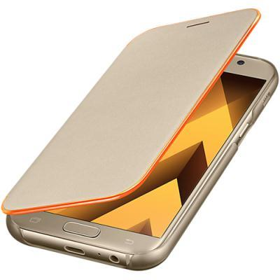 kaaned Samsung Neon Flip Galaxy A5 2017'le (kuldne)