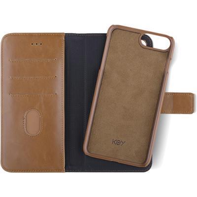 kaaned KEY Premium Magnet Apple iPhone 7 Plus/8 Plus'ile (pruun)