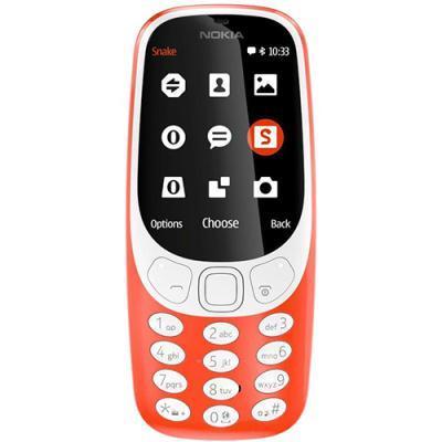 mobiiltelefon Nokia 3310 Dual SIM (punane)