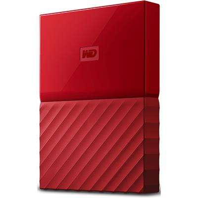 väline kõvaketas Western Digital My Passport 1 TB (punane)