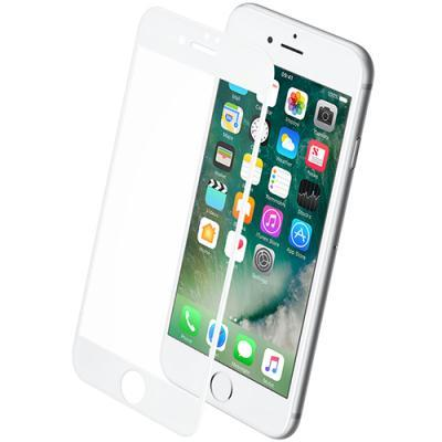 ekraanikaitseklaas KEY Apple iPhone 7 Plus/8 Plus'ile (kumerate servadega) (valge)