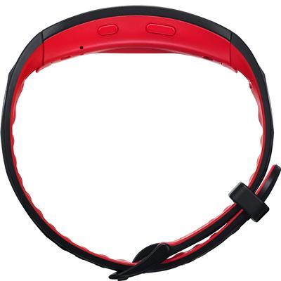 aktiivsusmonitor Samsung Gear Fit2 Pro L (must/punane)