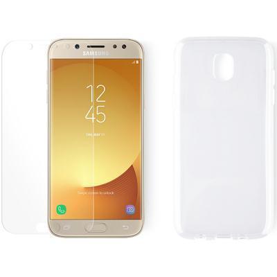 telefonikate KEY Core + ekraanikaitseklaas Samsung Galaxy J5 2017'le