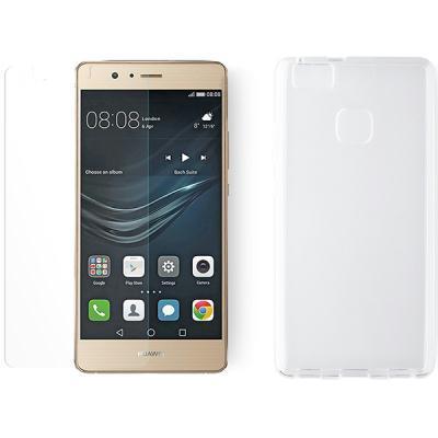 telefonikate KEY Core + ekraanikaitseklaas Huawei P9 Lite'ile
