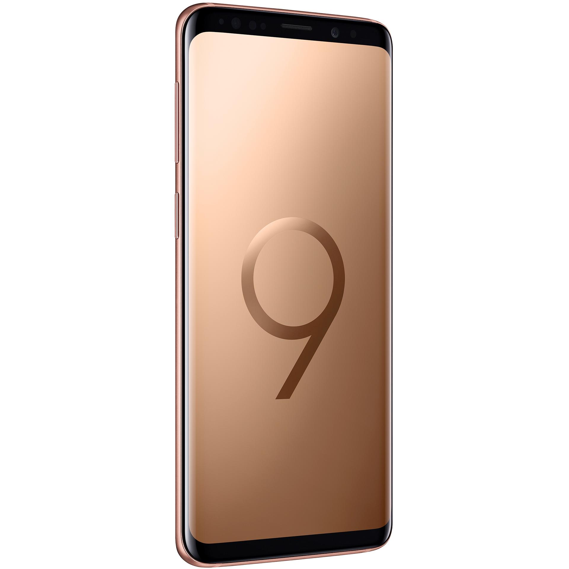 mobiiltelefon Samsung Galaxy S9 64 GB Dual SIM (kuldne)