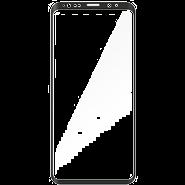54ceadc861f ekraanikaitseklaas KEY Samsung Galaxy S9+'ile (kumerate servadega)