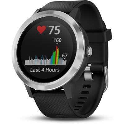 спортивные часы Garmin Vivoactive 3 (чёрный/серебристый)