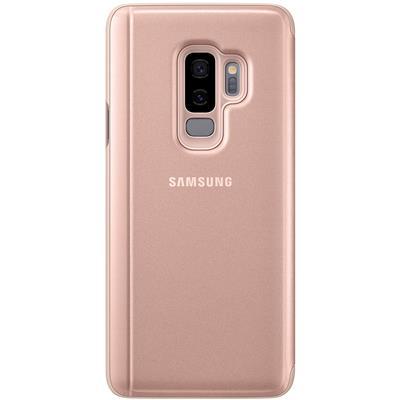kaaned Samsung Clear View Galaxy S9+'ile (kuldne)
