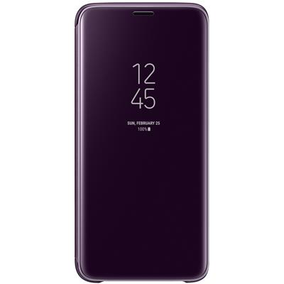 kaaned Samsung Clear View Galaxy S9'le (lilla)