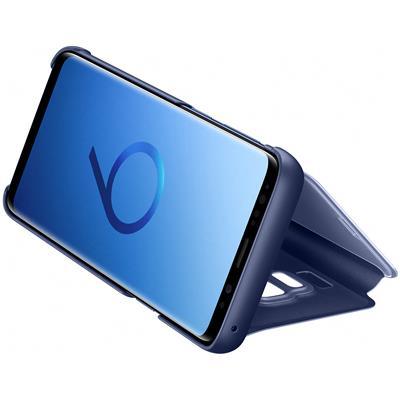 kaaned Samsung Clear View Galaxy S9'le (sinine)