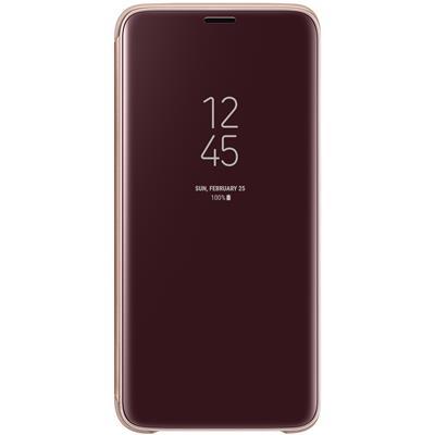 kaaned Samsung Clear View Galaxy S9'le (kuldne)