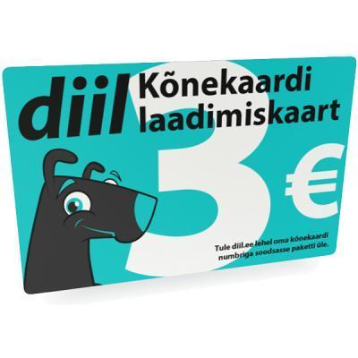 kõneajakaart Diil 3€