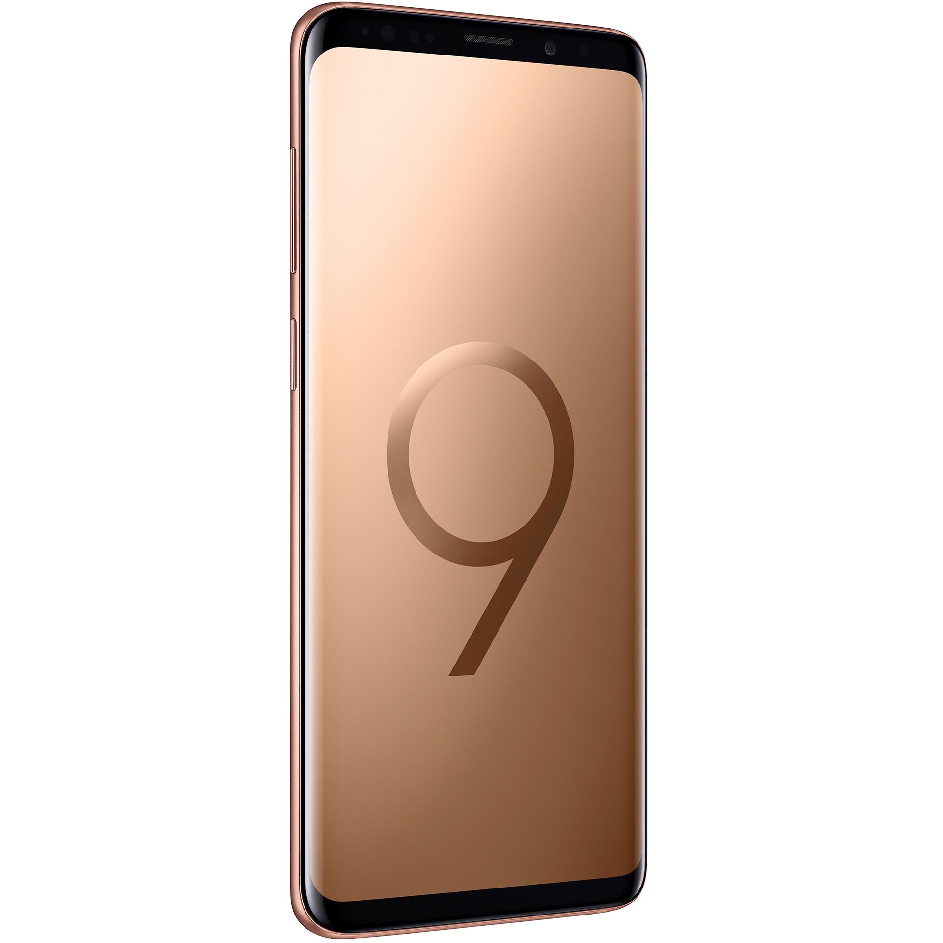 mobiiltelefon Samsung Galaxy S9+ 256 GB Dual SIM (kuldne)
