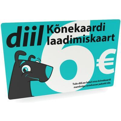 laadimiskaart Diil 6 €