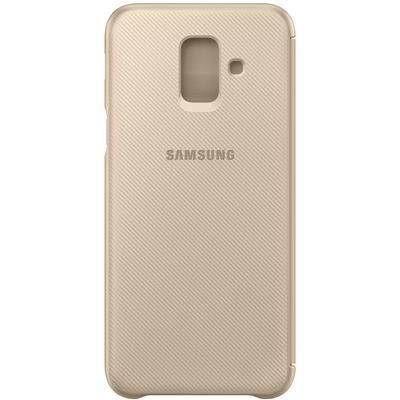 kaaned Samsung Flip Wallet Galaxy A6'le (kuldne)