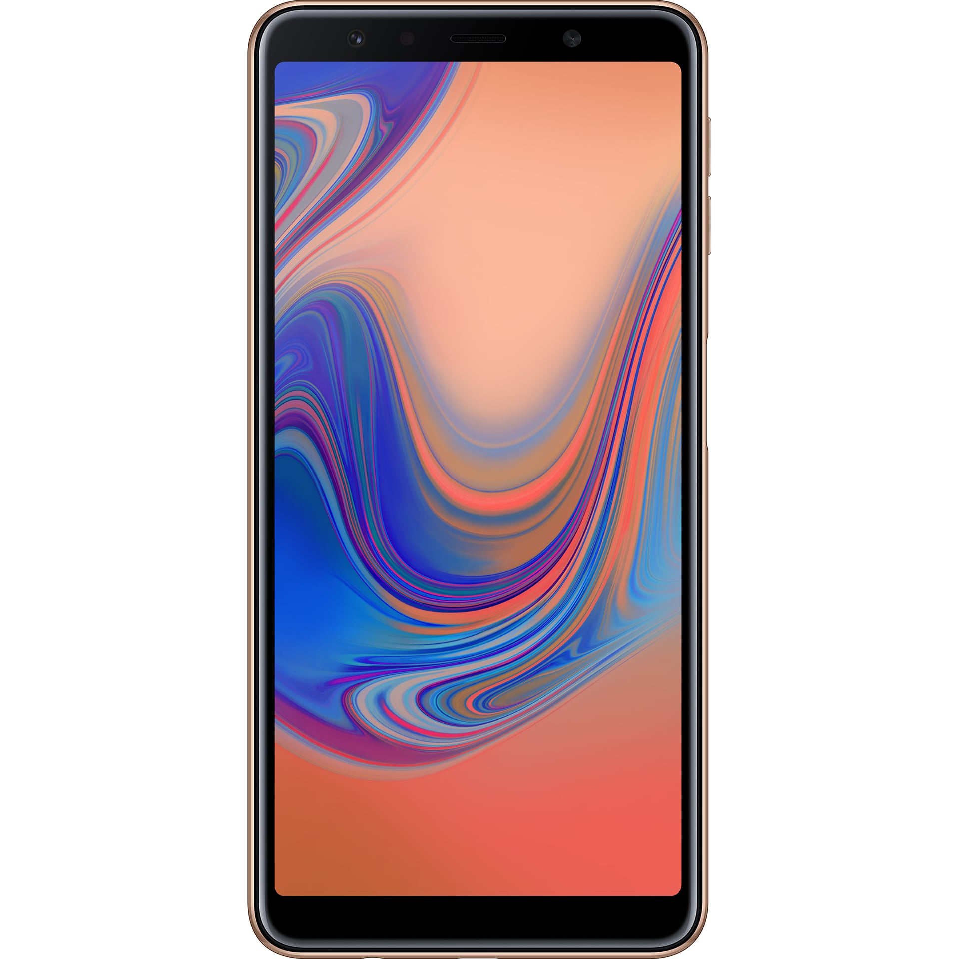 mobiiltelefon Samsung Galaxy A7 (2018) Dual SIM (kuldne)