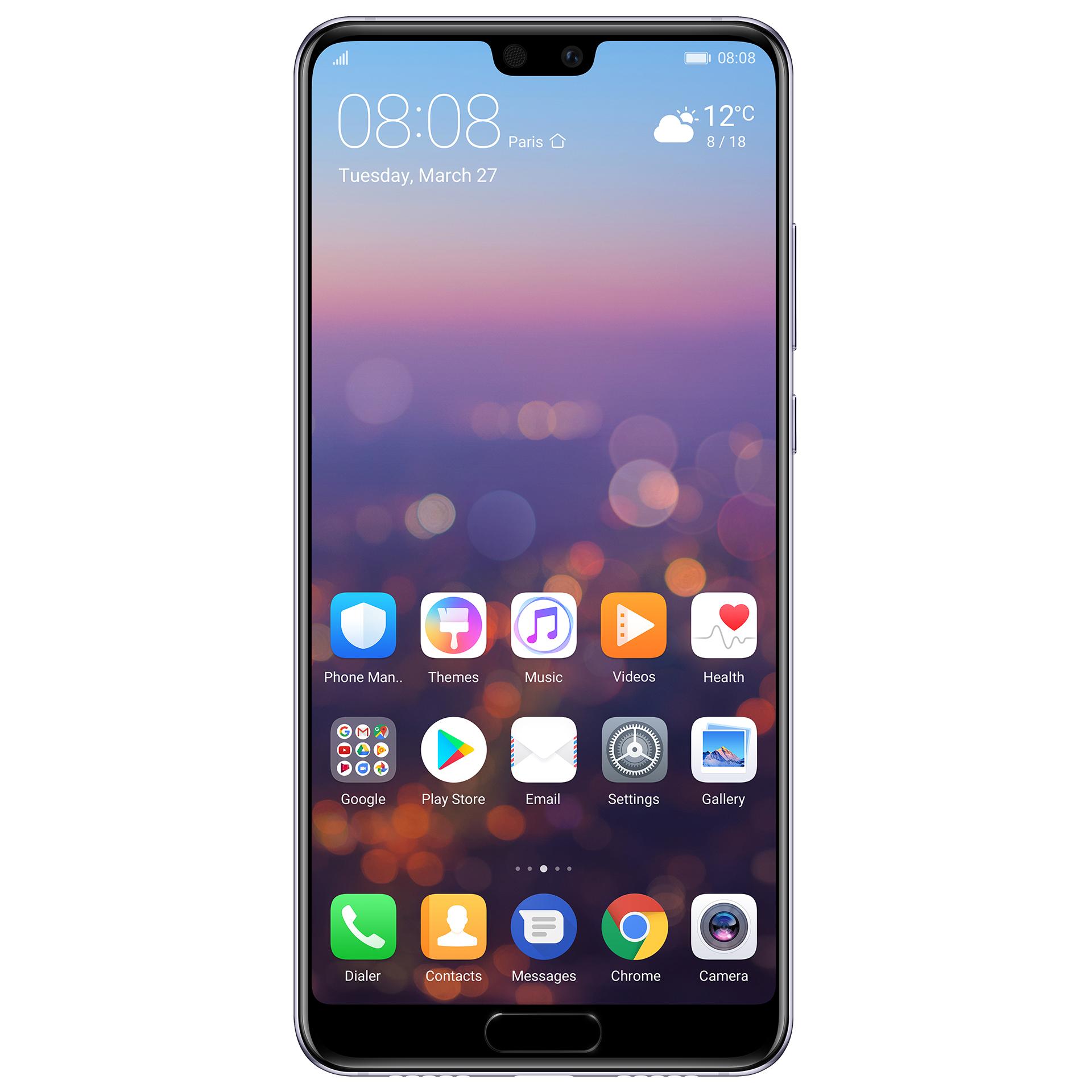 mobiiltelefon Huawei P20 64 GB  (lilla)