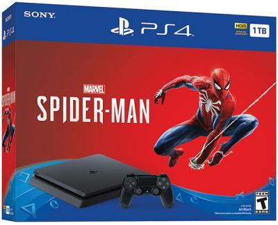 mängukonsool Sony PlayStation 4 1 TB Slim + Spider-Man