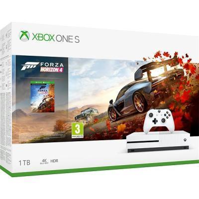 mängukonsool Microsoft XBOX One S 1 TB + Forza Horizon 4