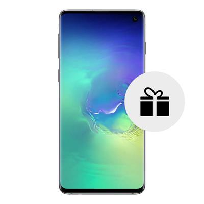 mobiiltelefon Samsung Galaxy S10 128 GB  (roheline)