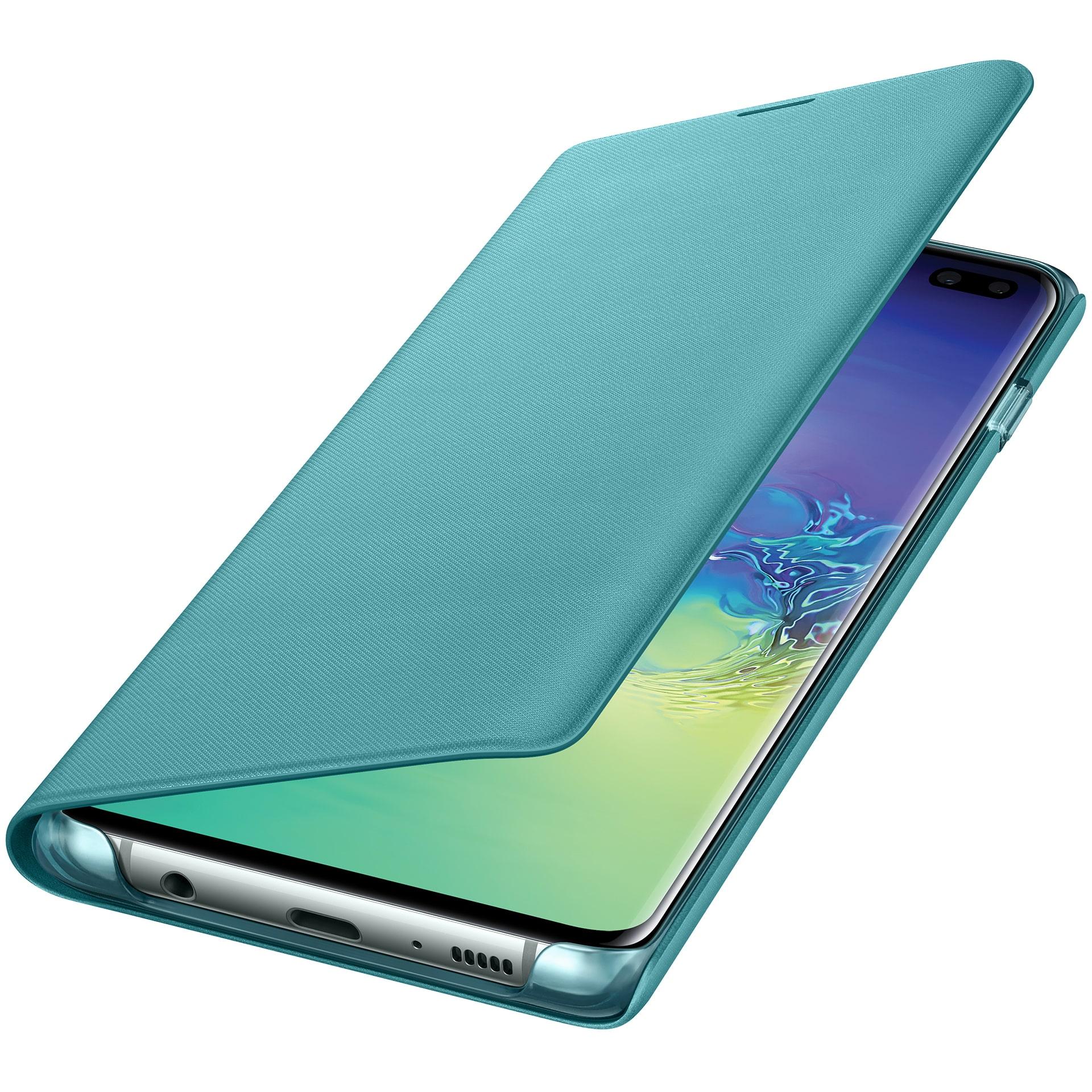 kaaned Samsung LED-View Galaxy S10+'ile (roheline)