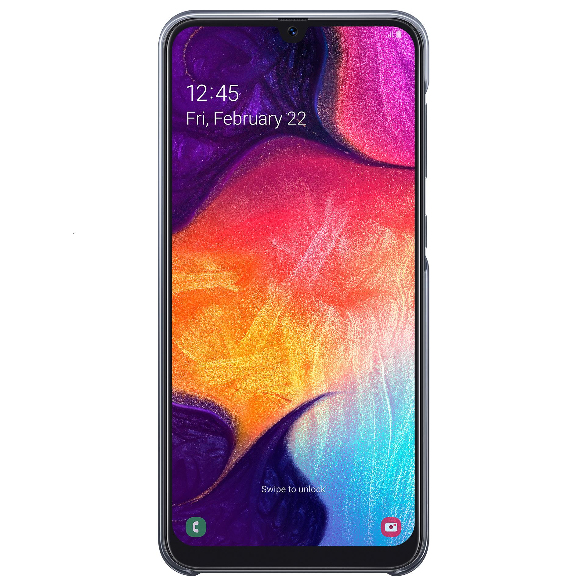 ümbris Samsung Galaxy A50'le (must)