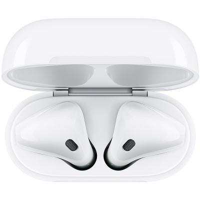 kõrvaklapid Apple AirPods + juhtmevaba laadimiskarp