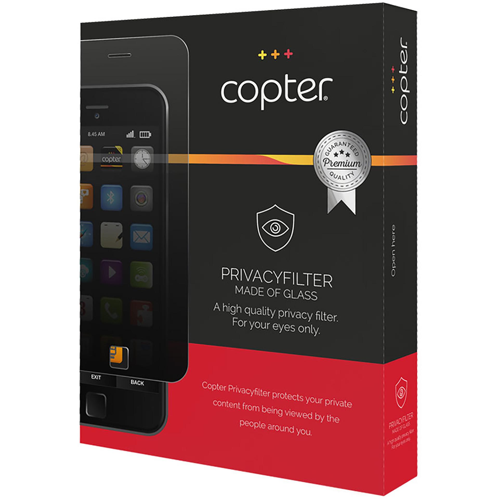 ekraanikaitseklaas Copter privaatsusfiltriga Curved Apple iPhone XS Max'ile