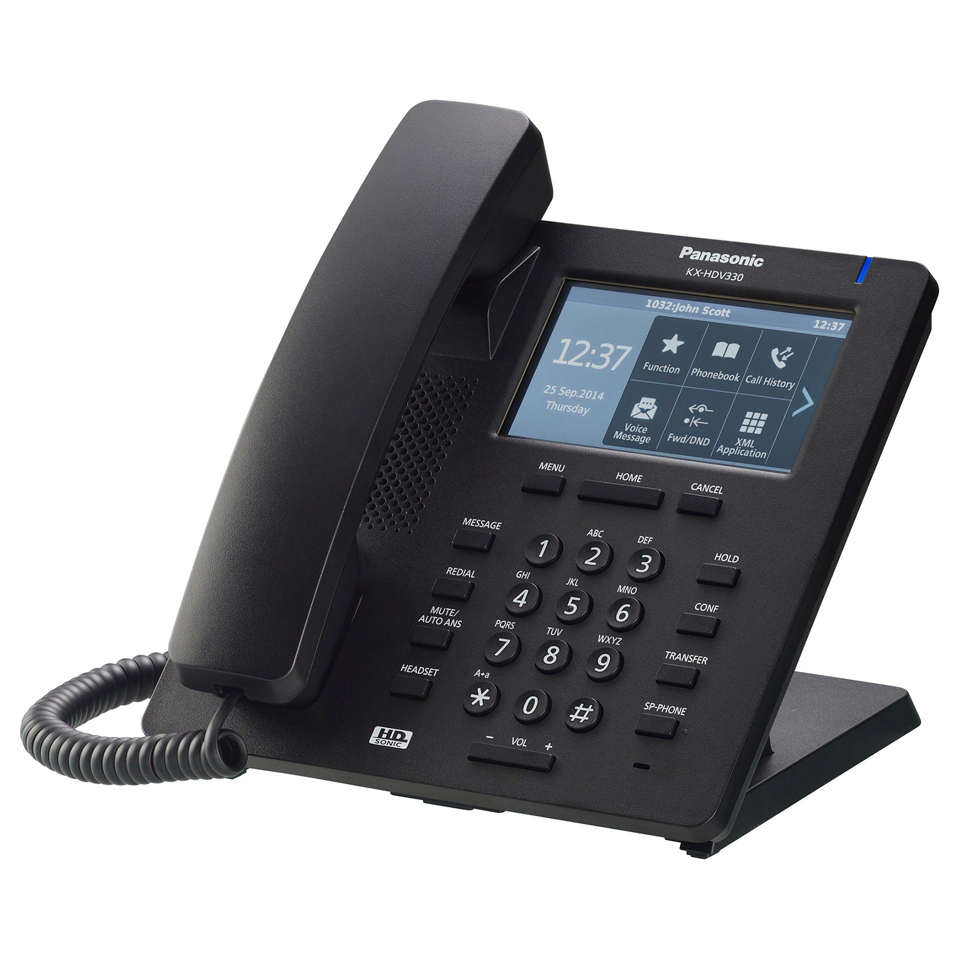 internetitelefon Panasonic KX-HDV330 (must)