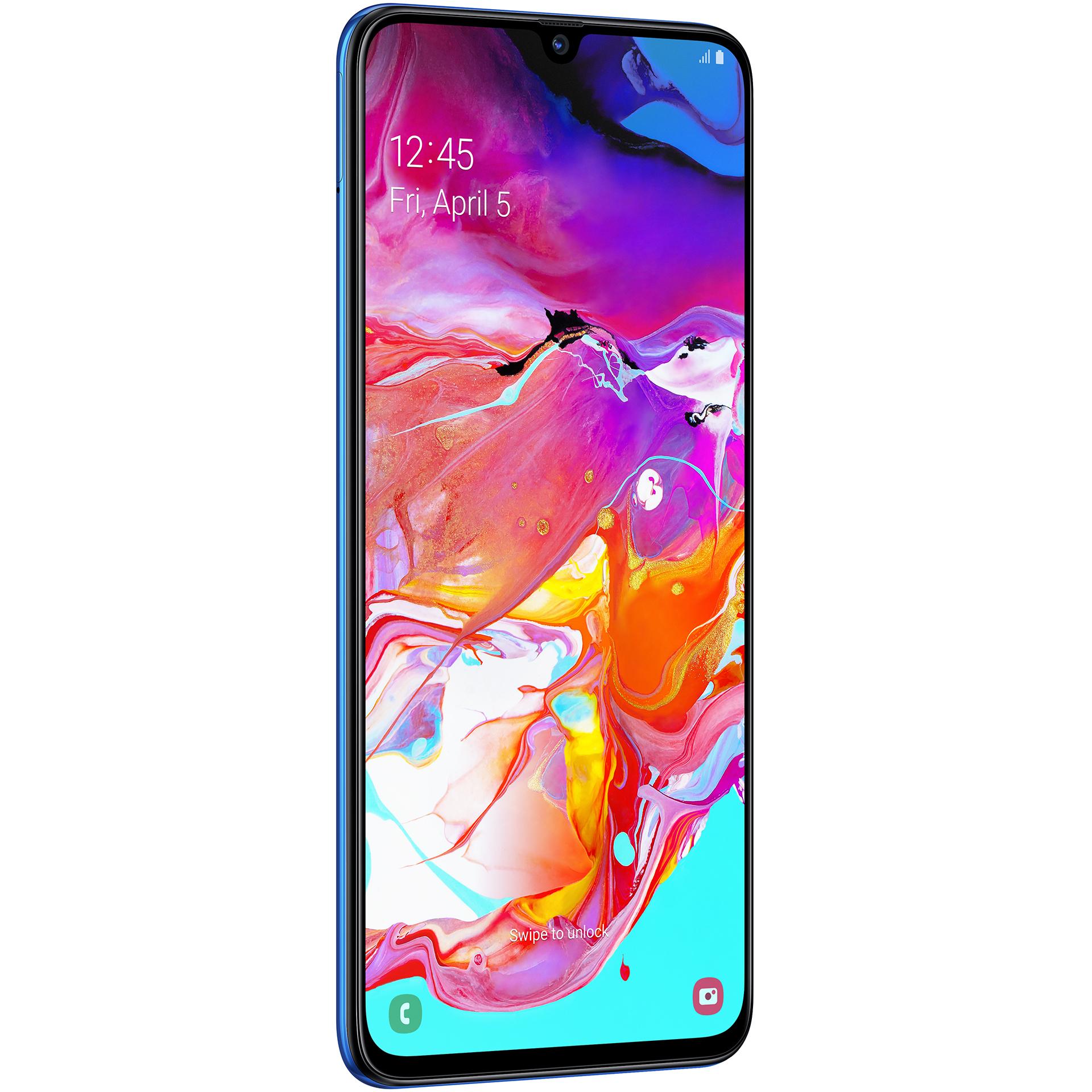 mobiiltelefon Samsung Galaxy A70 (sinine)