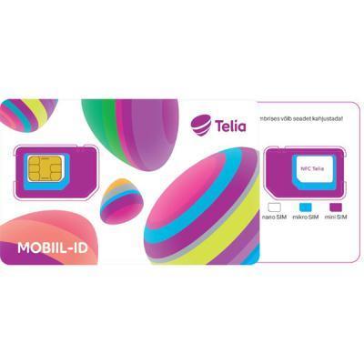 Telia NFC Mobiil-ID SIM-kaart