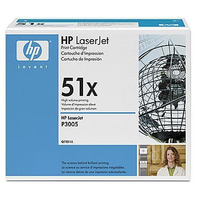 tooner HP LaserJet Q7551X